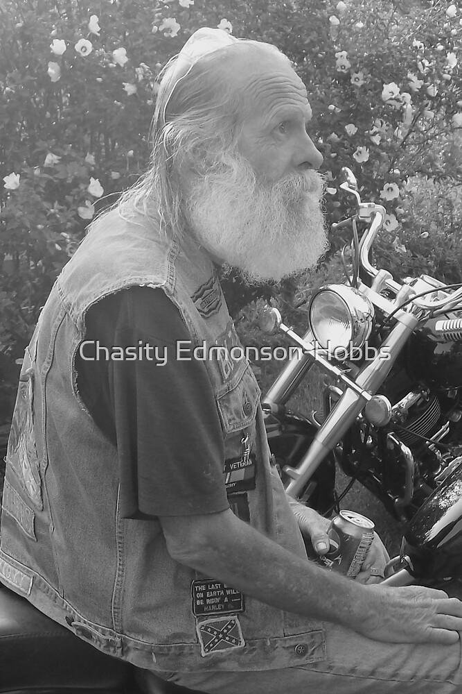 Old Biker  by Chasity Edmonson-Hobbs