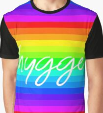 Rainbow Hygge - Feel Good Collection Graphic T-Shirt