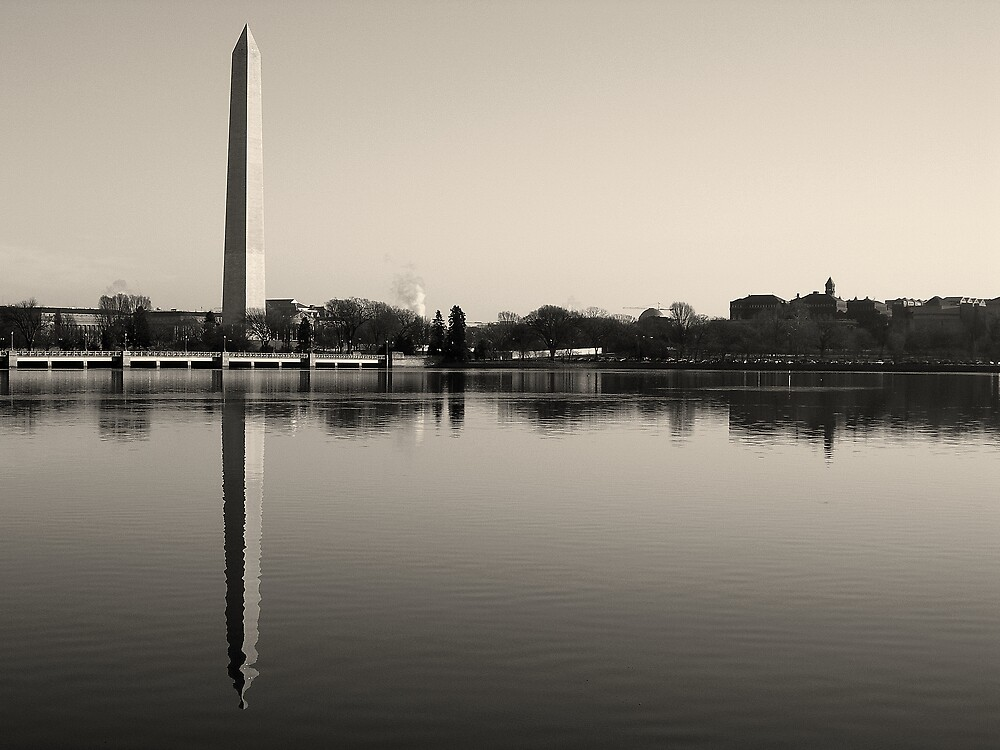 Washington Monument by wyllys