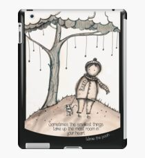 The smallest things iPad Case/Skin