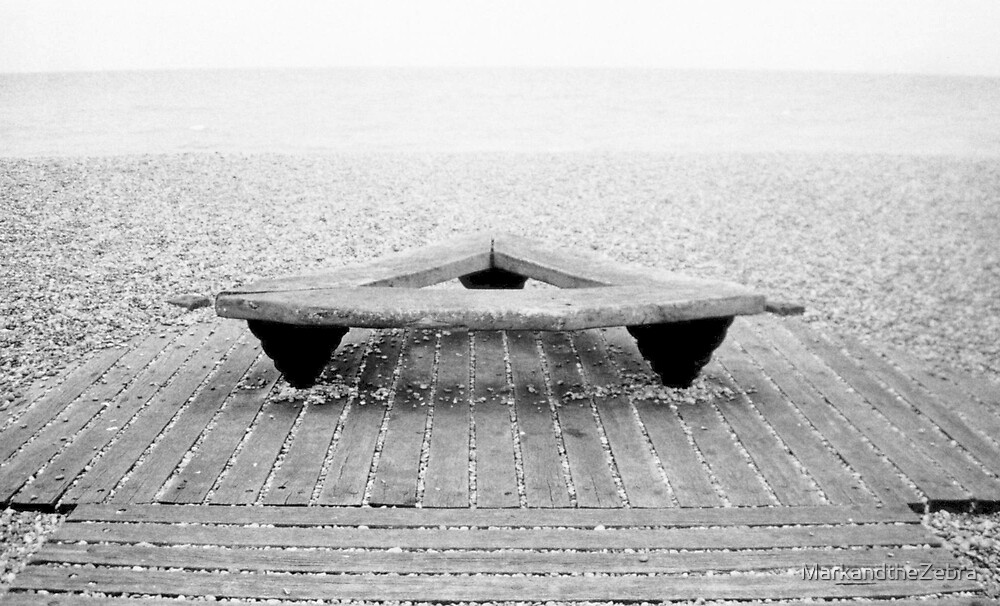 Seat, Brighton Beach by MarkandtheZebra