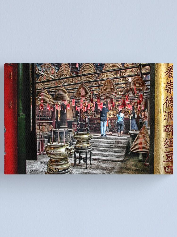 Alternate view of Hong Kong - Man Mo Temple Canvas Print