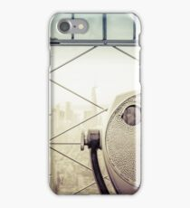 Travel Sunset Landscape - New York City - ESB/WTC iPhone Case/Skin