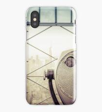 Travel Sunset Landscape - New York City - ESB/WTC iPhone Case/Skin