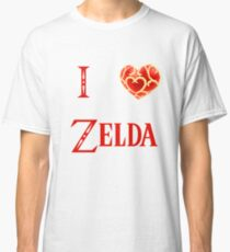 I Love Zelda ( skyword sword ) Classic T-Shirt