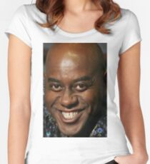 ainsley harriott Women's Fitted Scoop T-Shirt