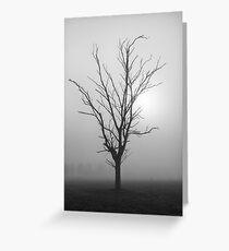 Creeping Mist - Tongala Victoria Australia Greeting Card