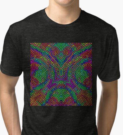 Freaky Stencil Tri-blend T-Shirt