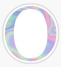 Omicron O Holographic Greek Sorority Sticker