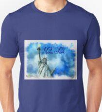 Statue of Liberty - Watercolor T-Shirt
