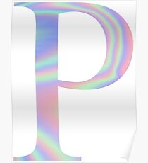 Rho P Holographic Greek Sorority Poster