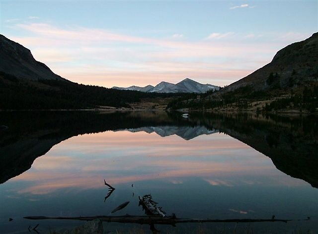 Tioga Lake Sunrise by raptrlvr