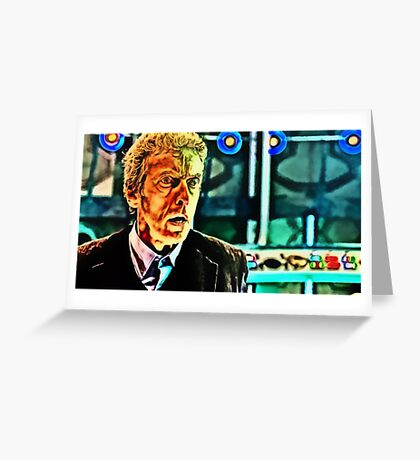 Doctor Who - Regeneration in Twelfth Greeting Card