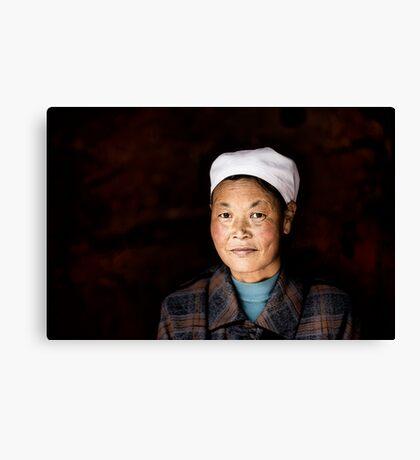 Chinese woman - Leshan Canvas Print