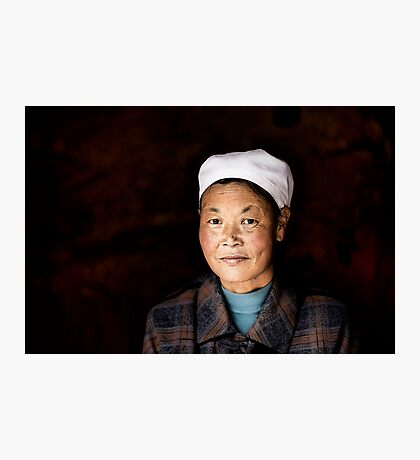 Chinese woman - Leshan Photographic Print