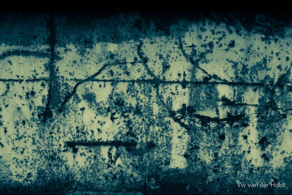 Blue Monday by Viv van der Holst