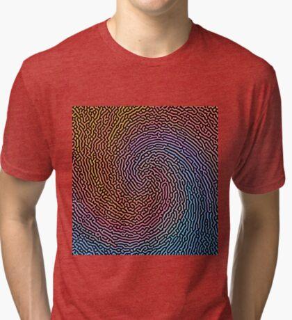 Fingerprint Wave Tri-blend T-Shirt