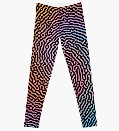 Fingerprint Wave Leggings