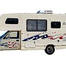 "Don't Tread On Me - Toyota Motorhome by Arthur ""Butch"" Petty"