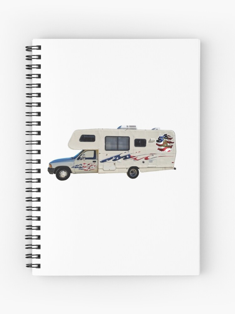 Don T Tread On Me Toyota Motorhome Spiral Notebook
