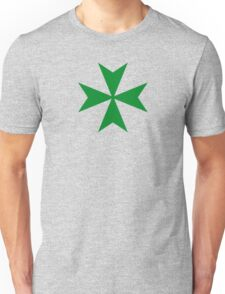 Order of Saint Lazarus, Maltese Cross Unisex T-Shirt