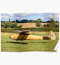 Slingsby T.6 Kirby Kite BGA310 Poster