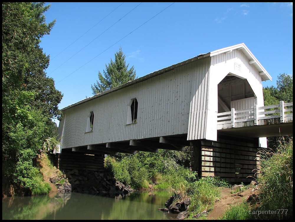 Covered bridge by carpenter777