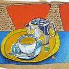 Jasmine Tea at South Beach by Evelyn Bach