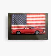 1968 Dodge Charger I Metal Print
