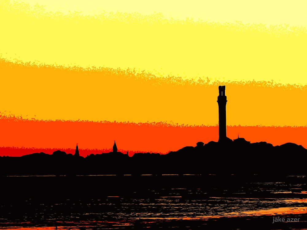 skyline by jake azer