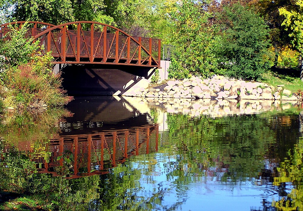 Riverside Bridge by Kerri Kenel