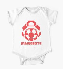 Mariobots! (RED) One Piece - Short Sleeve
