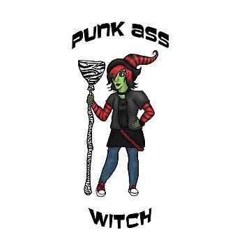 Punk Ass Witch by jambammer