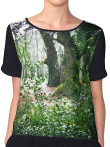 Forest Glow... Chiffon Top
