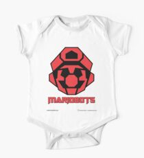Mariobots! (FLAT RED) One Piece - Short Sleeve