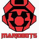 Mariobots! (FLAT RED) by MikePHearn