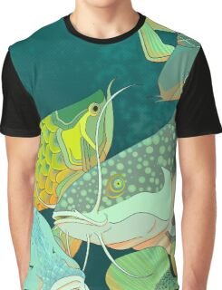 Golden Arowana Graphic T-Shirt