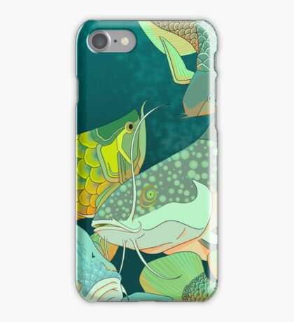 Golden Arowana iPhone Case/Skin