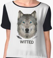 Witted Women's Chiffon Top