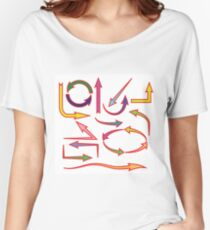 set of arrows Women's Relaxed Fit T-Shirt