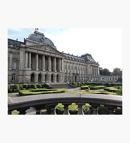 Royal Palace Of Brussels Photographic Print