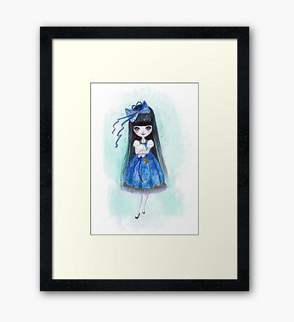 Nightly Doll Framed Print