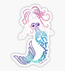 Char's Mermaid Sticker
