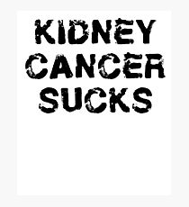 Kidney Cancer T Shirt Photographic Print