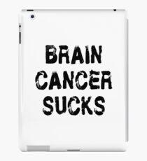 Brain Cancer T Shirt iPad Case/Skin