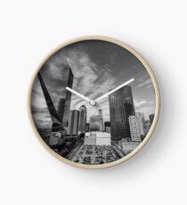 South Dallas Skyline  Clock