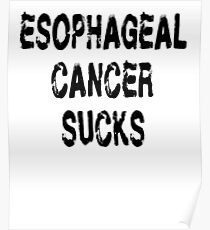 Esophageal Cancer T Shirt Poster