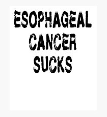 Esophageal Cancer T Shirt Photographic Print
