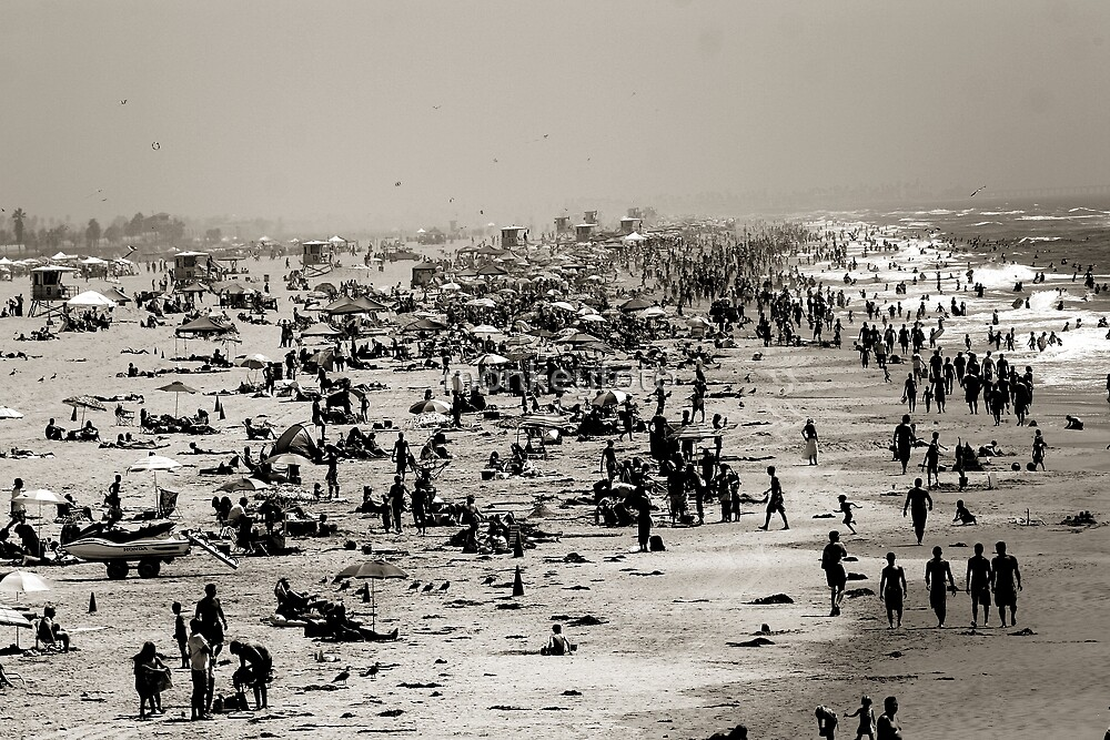 Huntington Beach, California by monkeyfoto