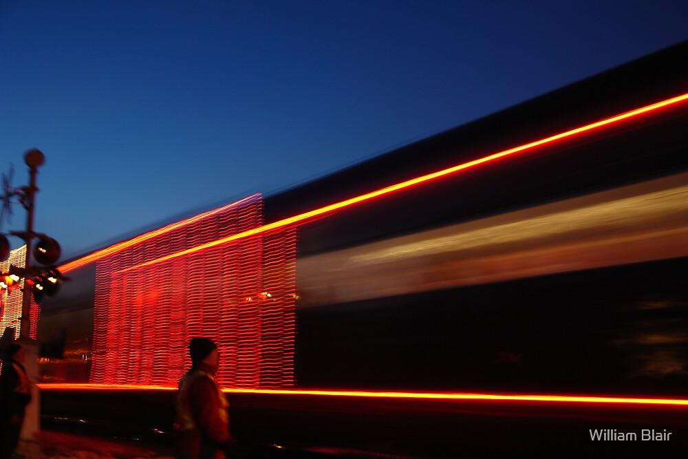 Christmas Train by William Blair